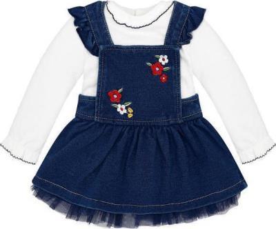 52f95946832 Mayoral Σετ φούστα σαλοπέτα τζιν για μωρό κορίτσι 2876