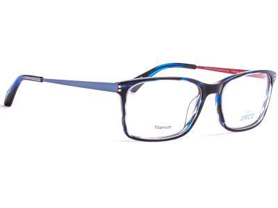 37f4a142f9 Γυαλιά οράσεως Jisco Fabian BKBL Ημιδιάφανο Μαύρο Μπλε (BKBL)