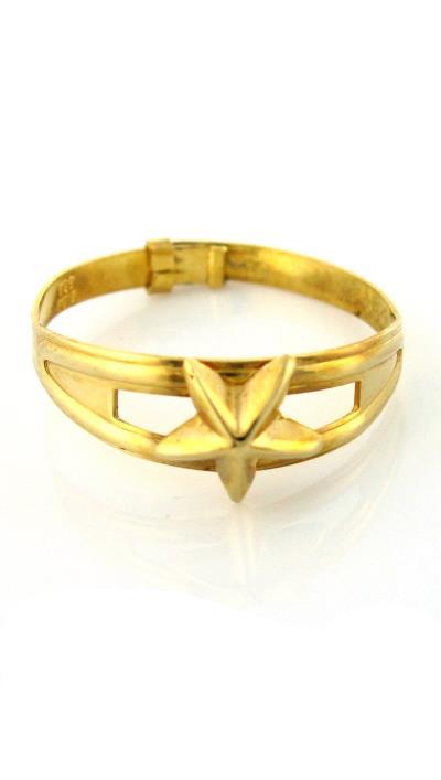 Παιδικό δαχτυλίδι χρυσό 14 καράτια με αστέρι fda22268256