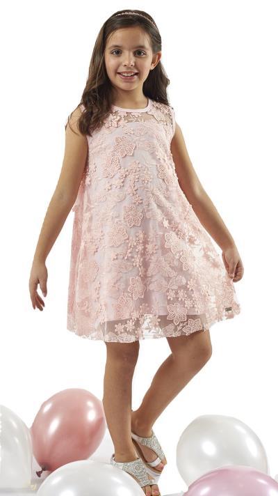 ef7268c8371 Ebita 198001 Φόρεμα αμάνικο Ροζ Ebita