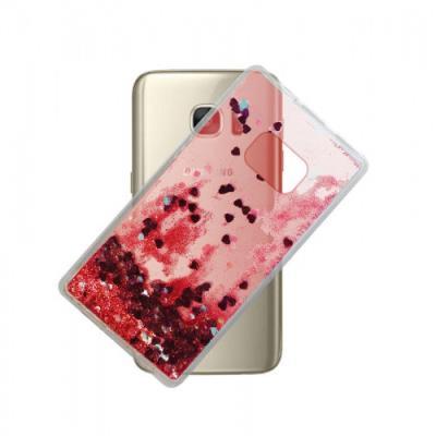 Samsung Galaxy S7 - 3D Glitter Κόκκινη 3d2f1ad0708