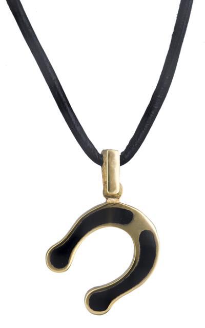 Κολιέ πέταλο με σμάλτο Κ14 019624 019624 Χρυσός 14 Καράτια e0d4fcdedb6