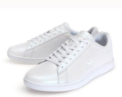 7cd3503a27f65c Lacoste Carnaby Evo 7-36SPW001321G Leather White Pearl