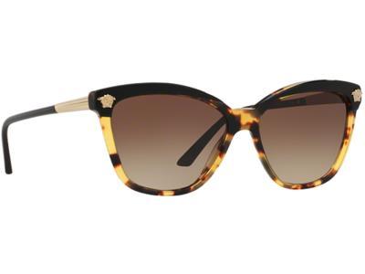 Γυαλιά ηλίου Versace VE 4313 517713 Μαύρο Κίτρινη Ταρταρούγα Καφέ  Ντεγκραντέ (51 e15362c3bd5