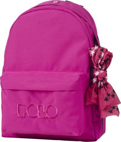 ebd7c56452 Τσάντα Σχολική POLO με μαντήλι (βιολετί) 901135-29-00 POLO (901135-29-00)