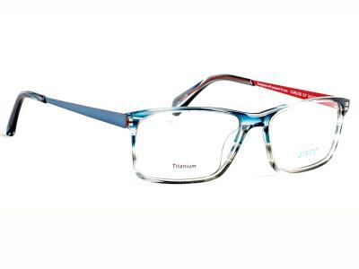 0451a3ee95 Γυαλιά οράσεως Jisco Carlos GY Ημιδιάφανο Μπλε Γκρι (GY)
