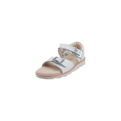 56dc2d98e2a Παιδικά Δερμάτινα Σανδάλια Clarks Crow Bloom T White leather 26141122 6 055