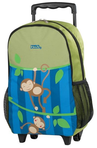 30e0f91437 Σχολική τσάντα POLO νηπίου τρόλεϋ ANIMAL JUNIOR MONKEY 9-01-011-61