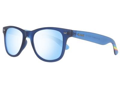Polaroid Unisex Γυαλιά Ηλίου με Μπλε σκελετό ec0833d6644