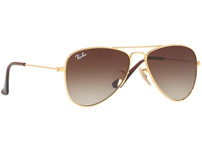 5a4c2abc13 Γυαλιά ηλίου Ray-Ban Junior RJ 9506S 223 13 Χρυσό Καφέ Καθρέφτης (223 13)  Πολυκα
