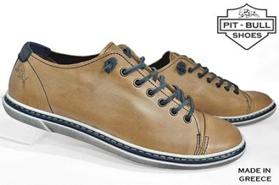 63e369f9192 Pit-Bull Δερμάτινα Ανδρικά Παπούτσια TOMS Ταμπά