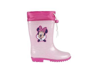 aac2ab3073c Disney Παιδικές Μπότες Γαλότσες με θέμα Minnie Mouse σε Ροζ χρώμα σε  Νούμερο 28
