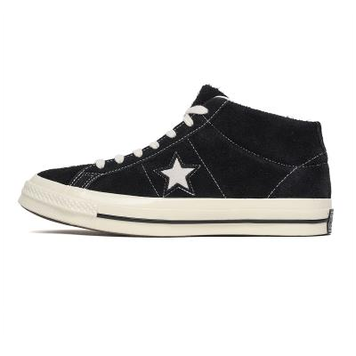885578002c82 CONVERSE - 157701C ONE STAR MID - BLACK EGRET SNEAKERS
