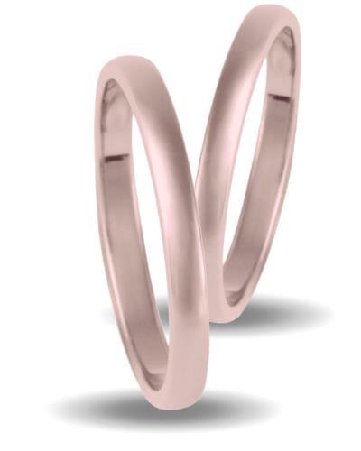 Ζεύγος βερών από Ροζ Χρυσό 9K 11e9961655f