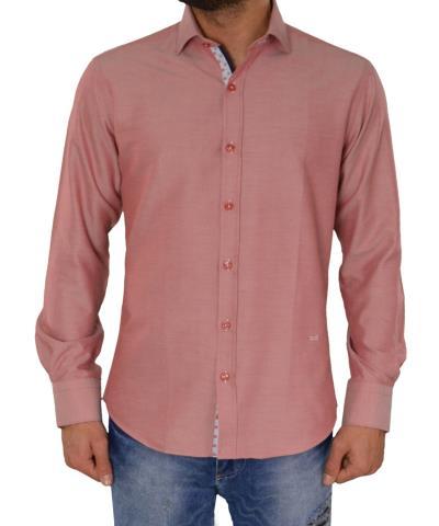 94bb05a1a9a3 Ανδρικό πουκάμισο GioS κόκκινο 905717G