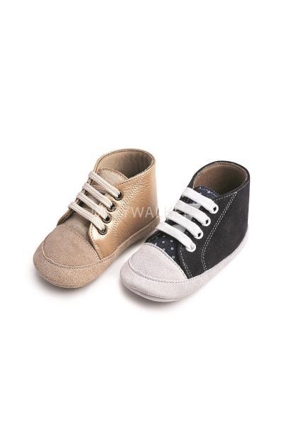 Παπούτσια Βάπτισης Babywalker ΔΕΤΟ ΔΕΡΜΑΤΙΝΟ ΜΠΟΤΑΚΙ MI.1034 b38ddf4ae68
