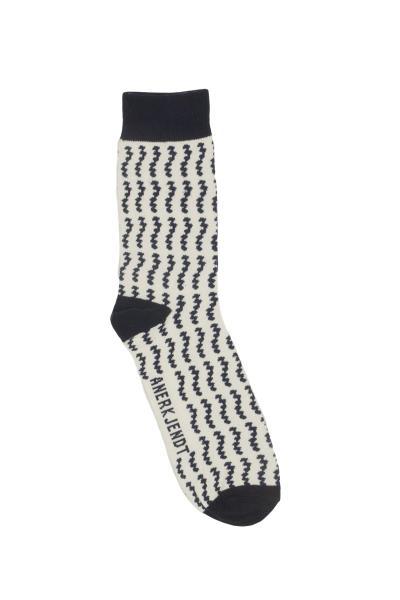 Anerkjendt Flash ανδρικές κάλτσες λευκό-μπλε - 9517802-wh 4928e17808e