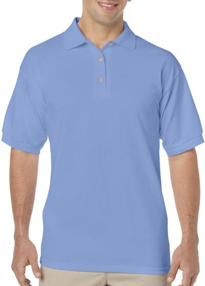 Gildan Mens DryBlend Jersey Polo Gildan 8800 - Carolina Blue a736436df43