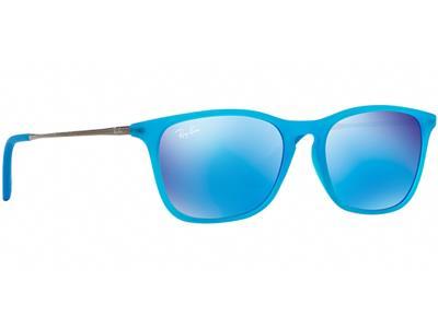 4043e74fac Γυαλιά ηλίου Ray-Ban Junior RJ 9061S 7011 55 Γαλάζιο Ματ Γαλάζιος Καθρέφτης  (701
