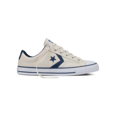 77006a321b2 CONVERSE CONVERSE STAR PLAYER OX 156620C NATURAL/NAVY/WHITE
