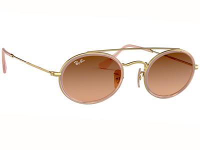 dd149925de Γυαλιά ηλίου Ray-Ban RB 3847N 9125 A5 Ροζ Χρυσό Ροζ Καφέ Ντεγκραντέ  (9125 A5) Κρ