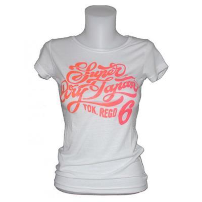 78a454676f48 SUPERDRY γυναικείο μπλουζάκι κοντομάνικο - άσπρο G10KX005