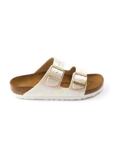 BIRKENSTOCK Σανδάλι BS CLAS ARIZONA 35-43 SHINY SNAKE CREAM f40e330a68c