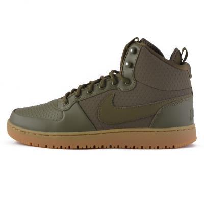 Nike Ebernon Mid Winter - Ανδρικά Μποτάκια AQ8754-300 - OLIVE CANVAS OLIVE  CANVA f5ae2e735d0