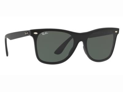 Γυαλιά ηλίου Ray-Ban Blaze Wayfarer RB 4440N 601S 71 Ματ Μαύρο Γκρι Πράσινο  (601 80fc0be3e5f