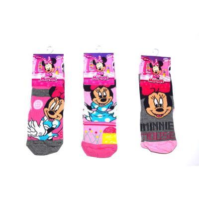 ca8e506f29f Κάλτσα παιδική Disney βαμβακερή με την Minnie Disney