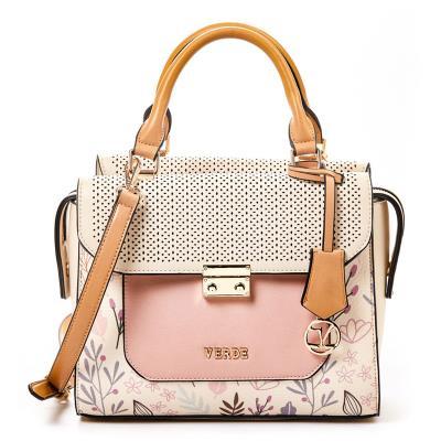 Γυναικεία τσάντα χεριού-ώμου Verde 16-0005017 σε μπεζ χρώμα έως 6 άτοκες  δόσεις 34f008fd51c