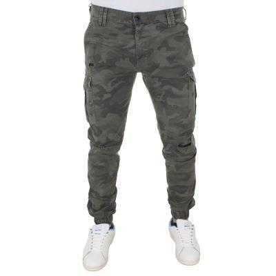 543cd78774b9 Ανδρικό Cargo Παντελόνι με Λάστιχα COVER Jeans CESAR 7755 παραλλαγή Χακί