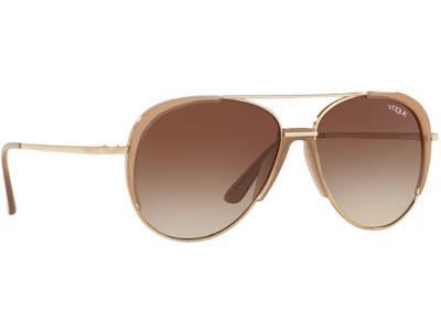 75d87ab79f Γυαλιά ηλίου Vogue VO 4097S 848 13 Χρυσό Καφέ Καφέ Ντεγκραντέ (848 13)  Πολυκαρβο