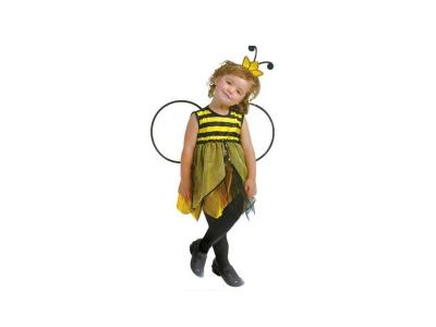 d996dd99865 Αποκριάτικη Παιδική Στολή Μελισσούλα με Φόρεμα, Στέκα και Φτερά - Cb