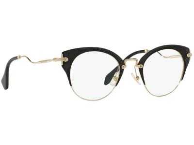676a465a02 Γυαλιά οράσεως Miu Miu MU 52PV 1AB1O1 Ματ Μαύρο Χρυσό (1AB1O1)