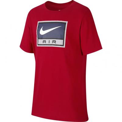 ff66dfe380 Nike Sportswear Boy s Air Tee 923666-687 - RED WHITE