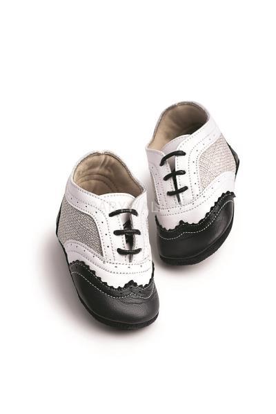 Παπούτσια Βάπτισης Babywalker ΔΙΧΡΩΜΑ ΔΕΤΑ BROGUES MI.1054 c85ca565988