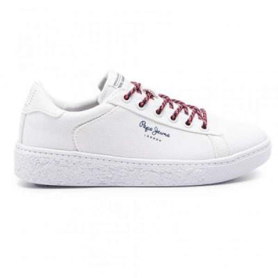 a471383425a Pepe Jeans Roxy Summer PLS30855 White 800 Γυναικεία Sneakers Pepe jeans  PLS30855
