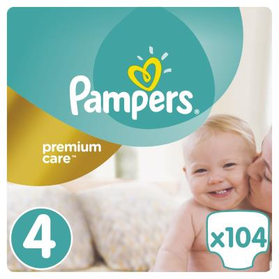 a9dbee78114 Πάνες Pampers Premium Care Νο 4 Mega Box 104τμχ (8-14kg)