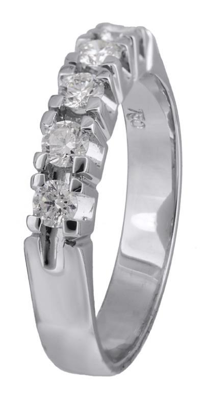 Γυναικείο δαχτυλίδι Κ18 με μπριγιάν 021400 021400 Χρυσός 18 Καράτια d7570dbbb13
