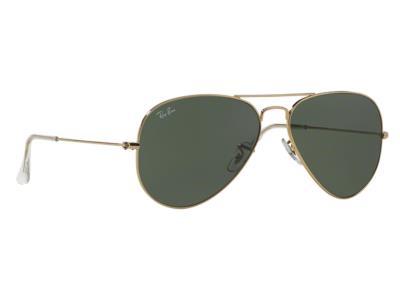 0f2e49e81e Γυαλιά ηλίου Rayban Aviator Classic 3025 L0205 58-14 Medium Χρυσό Γκρι  Πράσινο G
