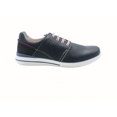 b Casual ανατομικά παπούτσια δερμάτινα  b  Zen 677550 μπλε. ΖΕΝ-677550 b4a451c359c