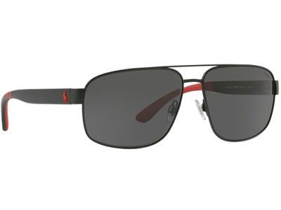 Γυαλιά ηλίου Polo Ralph Lauren PH 3112 9038 87 Ματ Μαύρο Γκρι (9038 87)  Πολυκαρβ cb236a78a4a