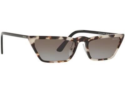 Γυαλιά ηλίου Prada SPR 19US 398 0A7 Μπεζ Καφέ Ταρταρούγα Γκρι Ντεγκραντέ  (398 0A 7a2ace84688