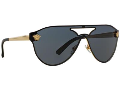 48a78a7fad Γυαλιά ηλίου Versace VE 2161 100287 Χρυσό Γκρι (100287) Πολυκαρβονικός 100%  UV Π