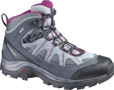 Γυναικεία Ορειβατικά Παπούτσια Salomon Authentic Ltr GoreTex Woman  Grey Purple 68995f83382