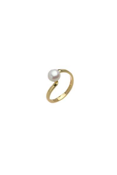 Δαχτυλίδι με Μαργαριτάρι Κ14 NKDX0115 (NKJ) - 525 4d6f53b3873