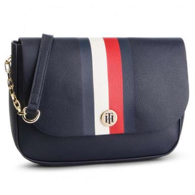 dc9572ca58 Tommy Hilfiger My Tommy Crossover AW0AW06425 901 Μπλε Γυναικεία Τσάντα  Χιαστί To