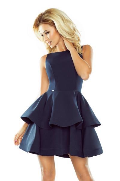 e27dabddad71 70126 NU Μίνι φόρεμα με βολάν - μπλέ navy
