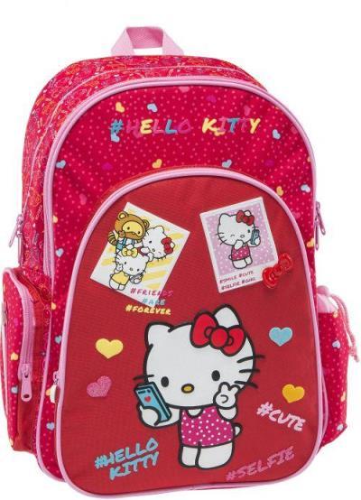 fa62e2b7f1 Τσάντα σχολική σακίδιο πολυθεσιακό Hello Kitty ανατομική πλάτη - GRAFFITI  168222